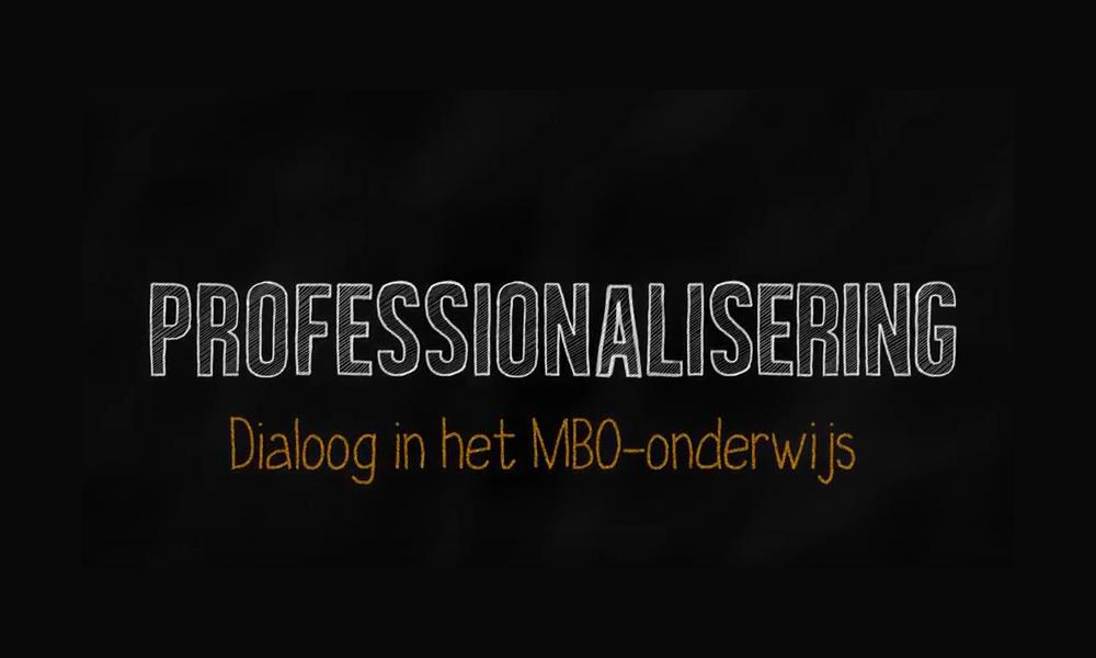Versterk de professionele dialoog: parels uit het mbo